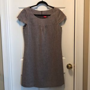 Capped Sleeved Wool Dress